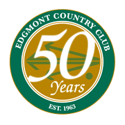 Edgmont Country Club 50th Anniversary logo